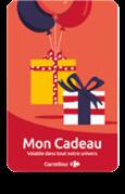 Carte Carrefour +